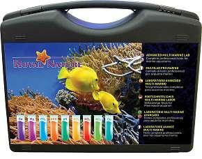 Malette de tests pour aquarium marin