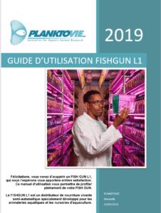 Page de garde guide d'utilisation Fishgun L1